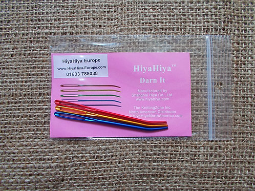 HiyaHiya Darn It needles, 3 pcs