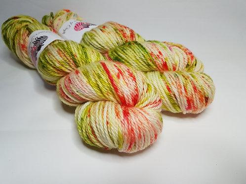 SW Merino yarn, Aran weight, 100g, PRUNUS