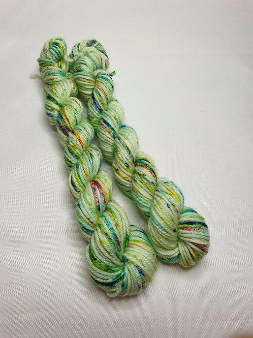 SW Merino/ Nylon, DK weight yarn, MINI #D008, 20 g
