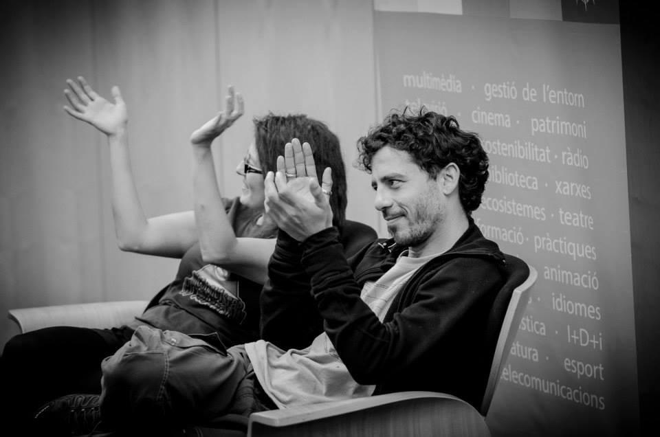 Luca Carruba en el Playlab de Gandía