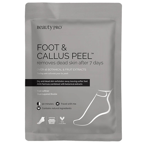 BeautyPro foot and callus peel treatment bootie