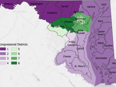 Marylanders Submit Congressional Re-Districting Plans