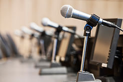 microphones-at-a-political-meeing-in-city-hall-AN7BL4Z.jpg