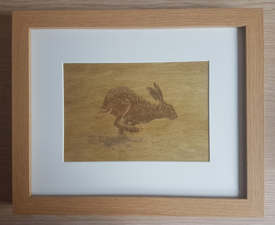 Plywood Engraved Photo
