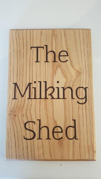 Medium Wood Sign