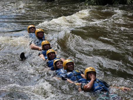 Rafting em Três Coroas. Uma aventura inesquecível do Grupo Escoteiro Cônego Sorg
