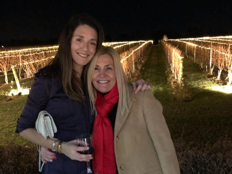 The Lighting of the Vines at Wolffer Estate