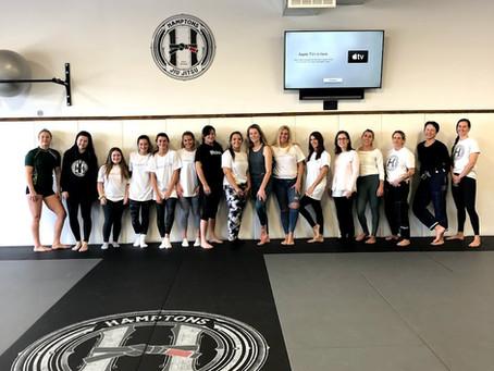 Girl Power: Self Defense and Empowerment at Hamptons Jiu Jitsu