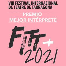 Ion Iraizoz recibe el premio a Mejor Intérprete FITT 2021 por su obra Beautiful Stranger