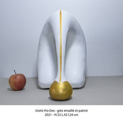 Gratis Pro Deo (face) - Luce Gaudin