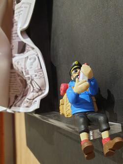 Tintin au Tibet détail