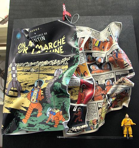 Tintin : On a marché sur la Lune
