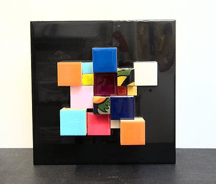 Cubes fond noir 2