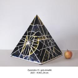 Pyramide n°5 - Luce Gaudin