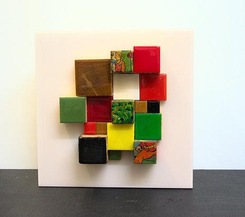 Cubes fond blanc 2