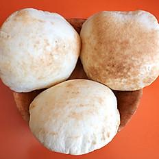 Fresh Organic White Pita Bread (pack of 5)