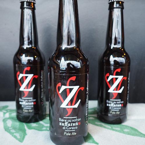 Demi-pack de bière au safran