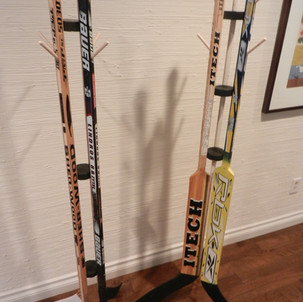 Hockey Stick Coat Hangers
