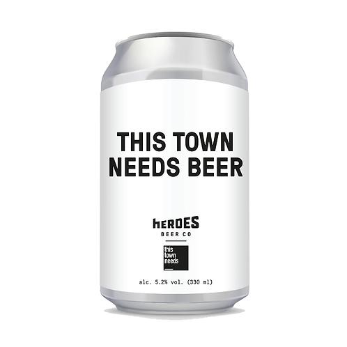 TTN x Heroes Beer Co. (2 Cases)