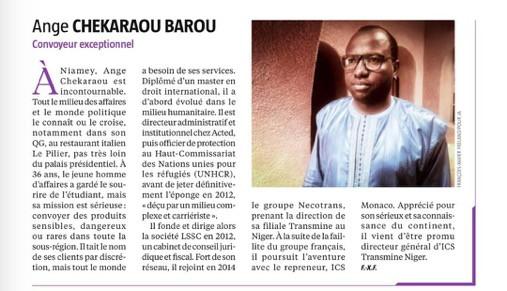 Jeune Afrique consacre un grand format au Niger