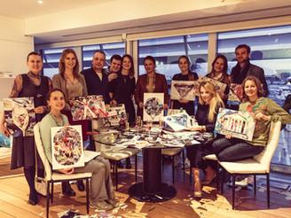 Teambuilding Art coaching in the Monaco Yacht Club