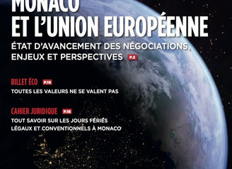 Interview La Classe. Monaco Business News. Hiver 2018-2019 №65