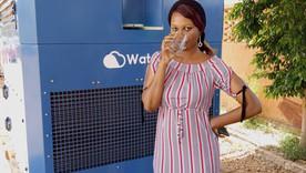 Production d'eau avec de l'air : une première en Afrique de l'Ouest