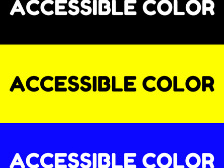 ACCESSIBLE COLOR