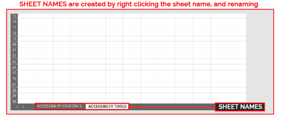 Example of a sheet name