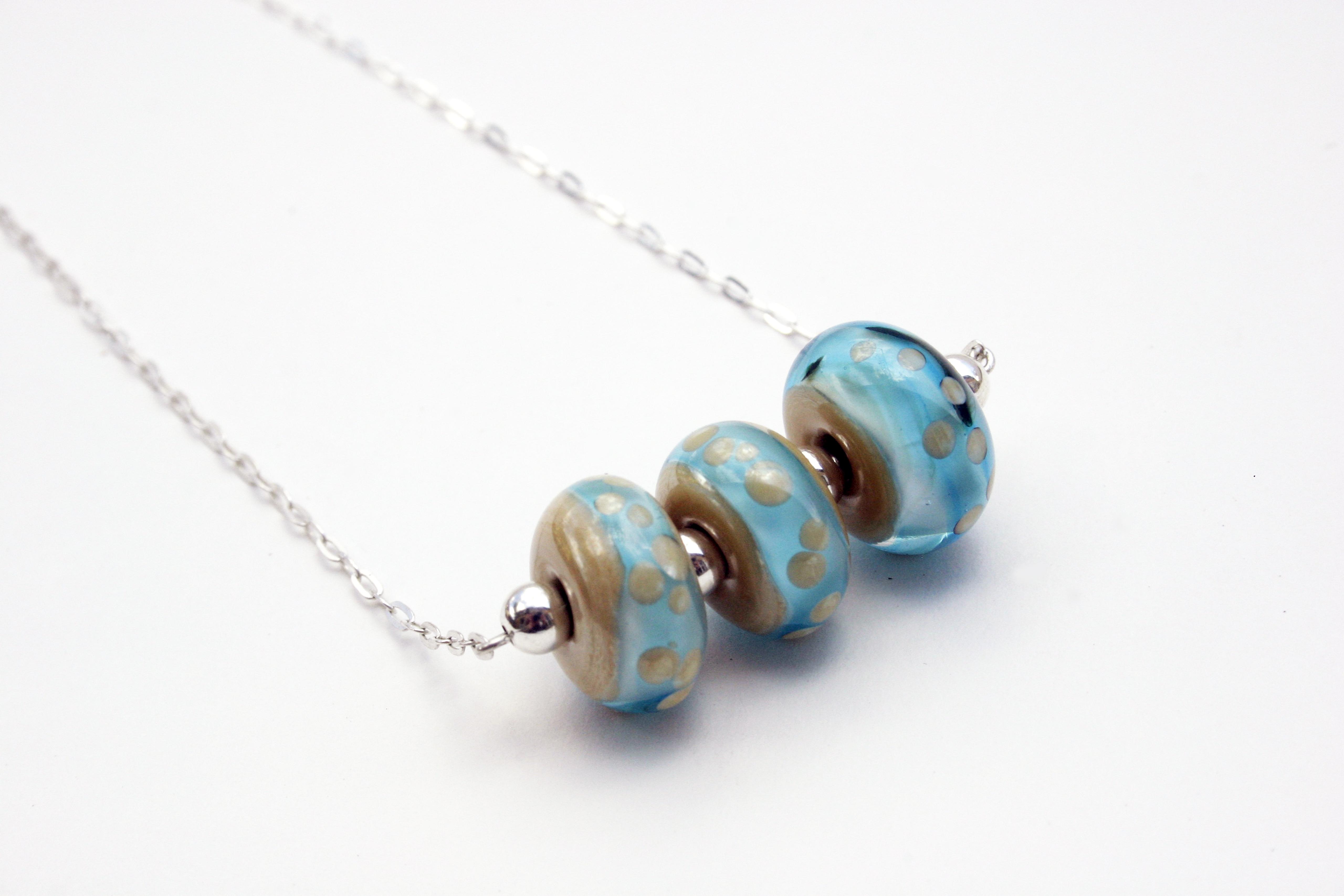 Ecko collier bleu