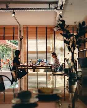Working from a Cafe