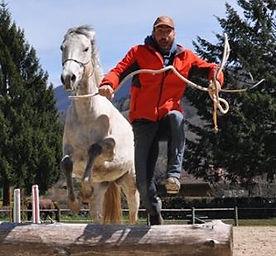 sylvain lecourt equitation ethique aventure éthologie randonnées horsemanship enseignement
