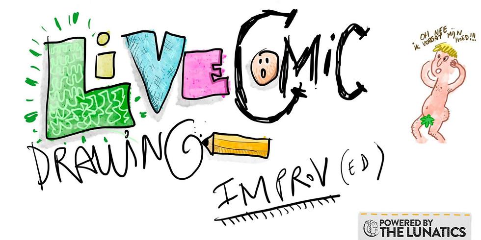 Live Comic Drawing Improv