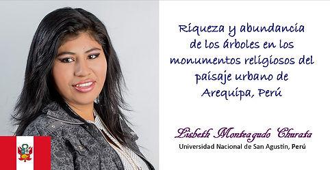 Lisbeth Monteagudo Churata Cartel 2018.j