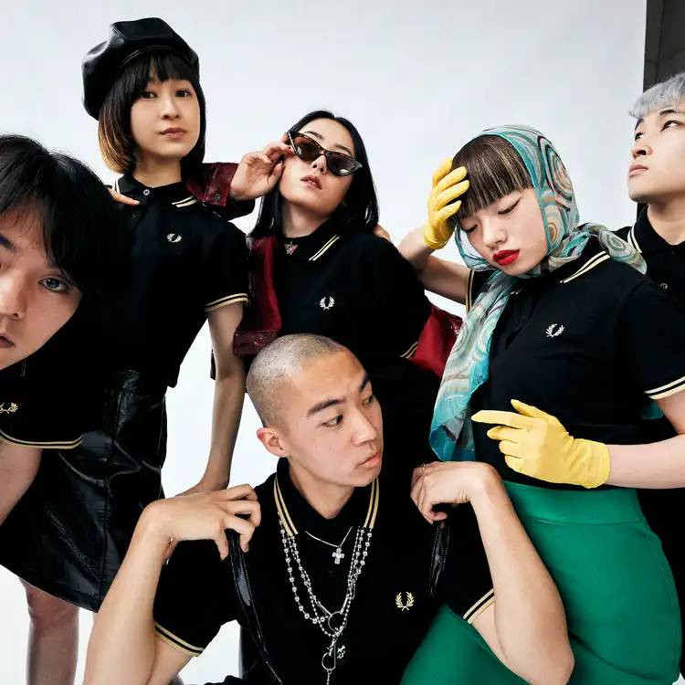 i-D JAPAN × FRED PERRY