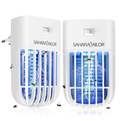 Sahara Sailor Bug Zapper, 2 Packs Indoor Plug-in Mosquitos Insects Fruit Fly Tra