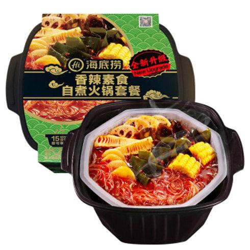 Fondu chinoise instantanées végétarien épicé  Pot auto-chauffant  410g