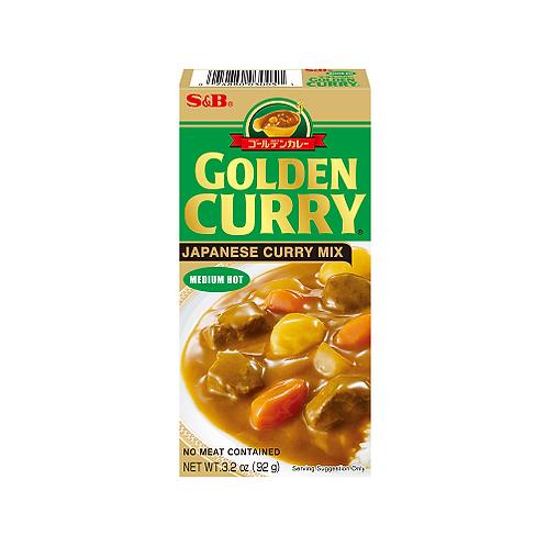 Golden Curry Medium Hot 92g