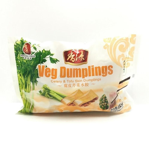 Raviolis au celeri et tofu 450g
