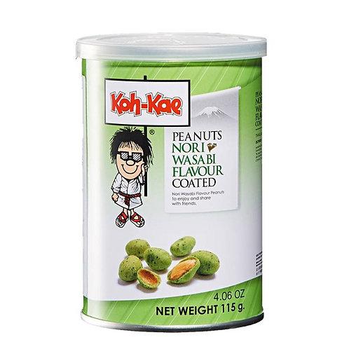 Cacahuète saveur wasabi 105g