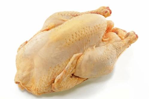 Poulet jaune fermier environ 1.7 kg