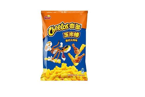 Cheetos Casse-croûte de maïs saveur de Dinde Américaine 90g