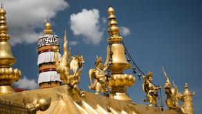 Fermez les yeux et imaginez-vous au Tibet. L'air des montagnes vous prend d'assaut.