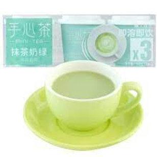 Thé saveur thé vert et lait 15g *3