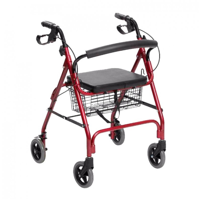 Andadera Rollator Deluxe