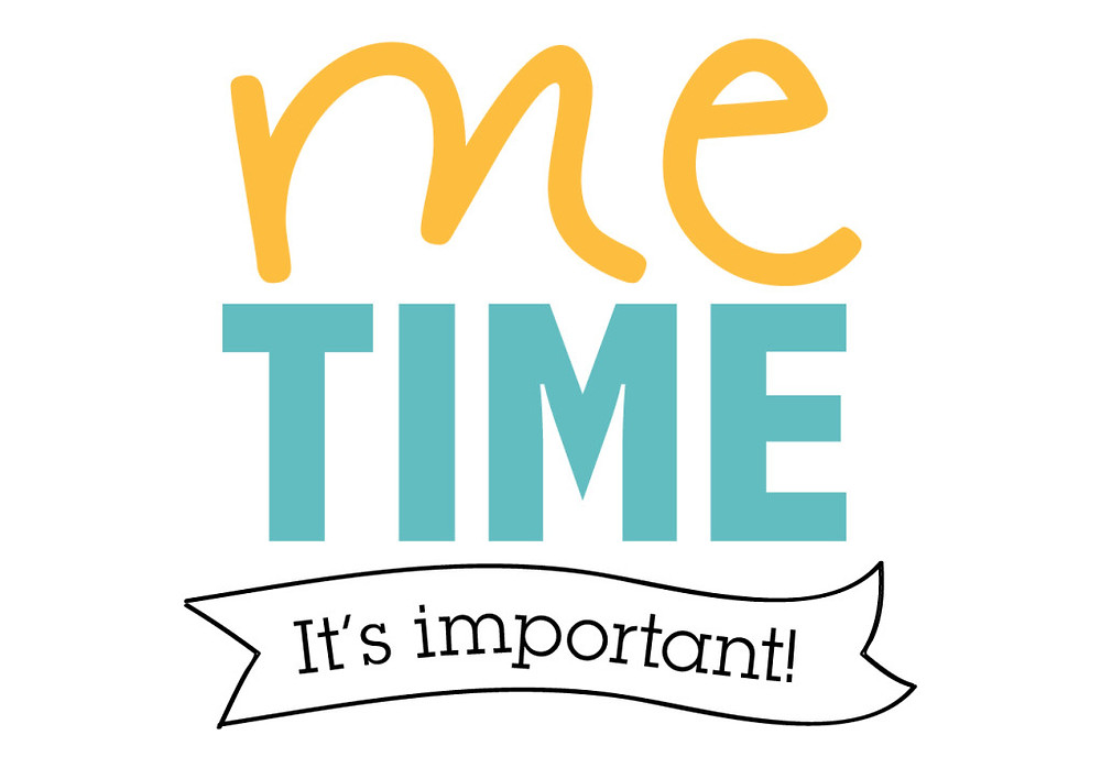 Me time it's important quote image