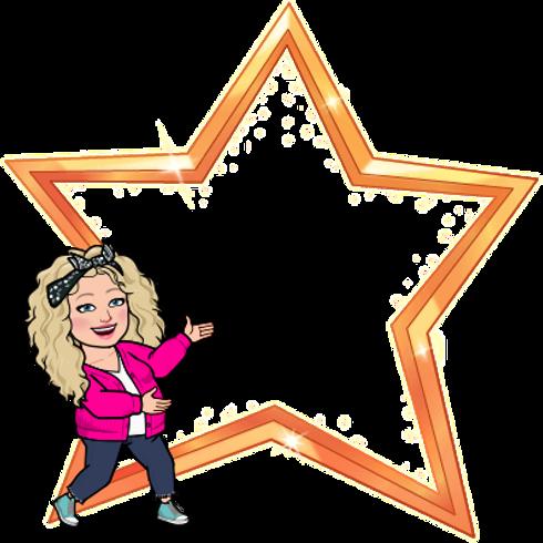 Alycia Yerves bitmoji big star