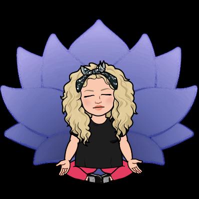 Alycia yerves bitmoji meditating