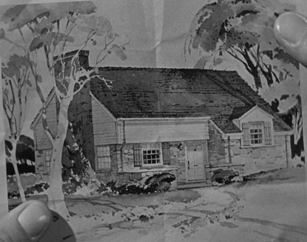A clipping of Susan's dream house