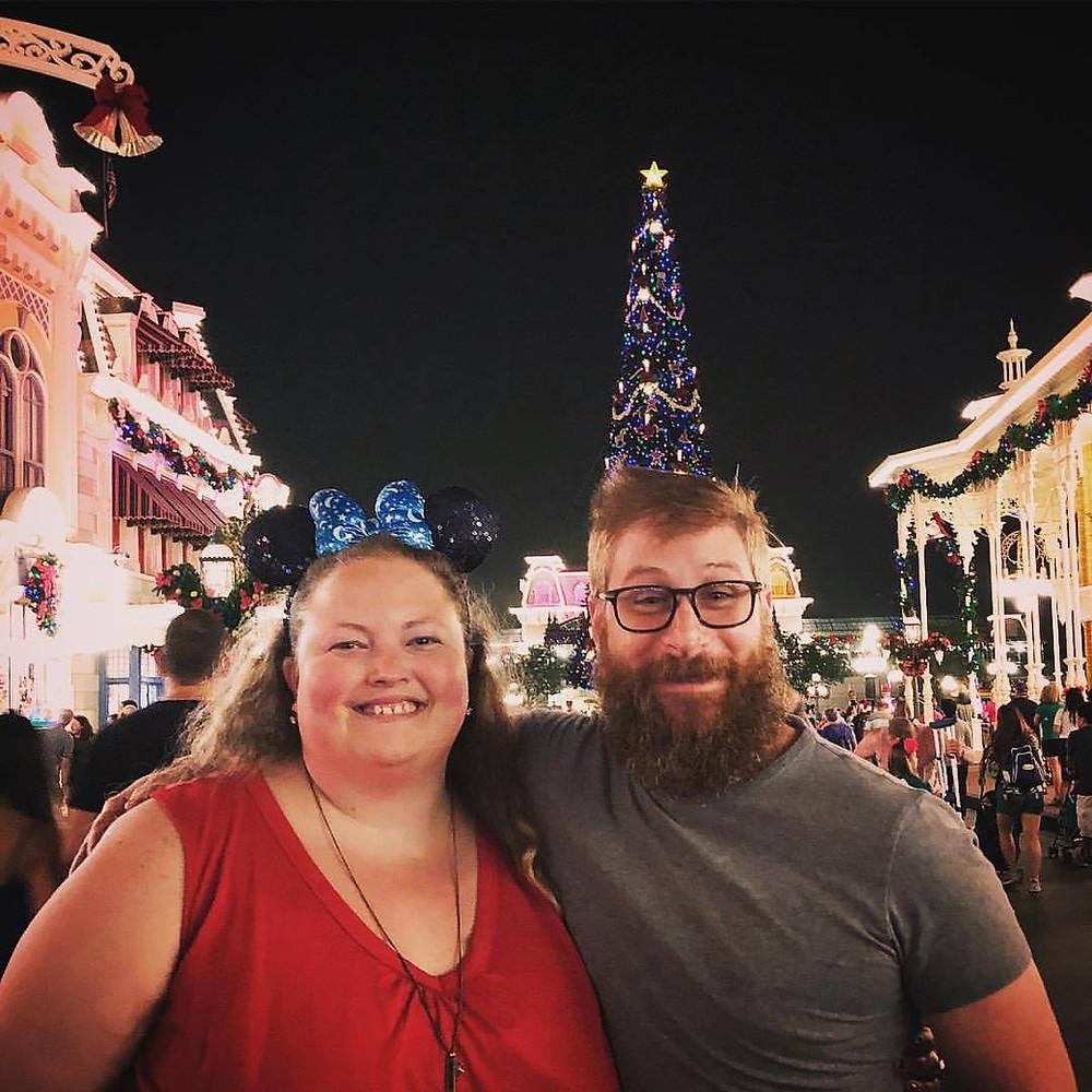 Alycia Yerves Creative team at Mickey's Very Merry Christmas Party